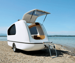 Why pull dull tempting trailers for cool campers Sealander caravan