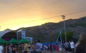 Camping at Benicassim music festival