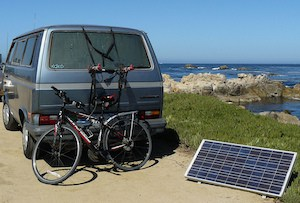 Power for campers – hook-up, solar power and portable power