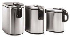Simplehuman canisters stainless steel storage Campfire Magazine