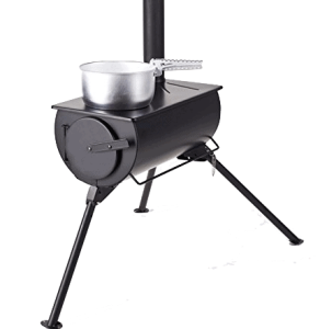 Frontier woodburning stove