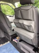 Brandrup seat back storage for VW California Beach campervan