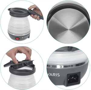 Navaris Compact Electric Travel Kettle