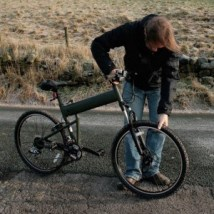 Montagu folding bike