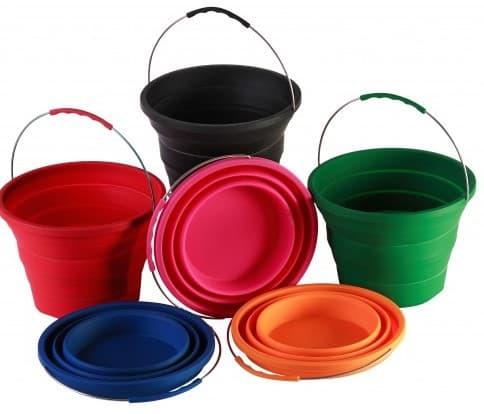pack-away buckets