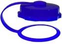 blue lid