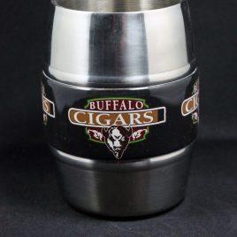 Big Bull- Bulk Custom Printed Stainless Steel Pint Mug with Full-Color Graphic