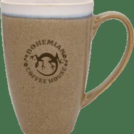 Beech- Bulk Custom Printed 17oz Reactive Glaze Rustic Ceramic Mug