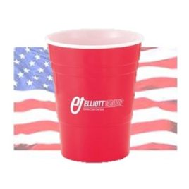 Cow-Bulk Custom Printed American Made Reusable Party Cup