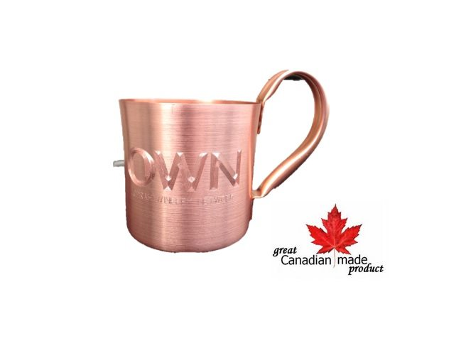 Donkey Bulk Custom Engraved 10oz Copper Mug For Moscow Mules