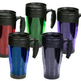 Gorilla- Custom Bulk, Double walled acrylic, handled travel mug