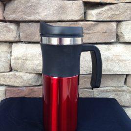 Impala- Custom Bulk,16oz, double insulated, rubber grip, travel handle mug