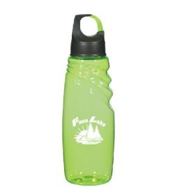 Kinkajou- Bulk Custom Printed Water Bottle with Carabiner Lid