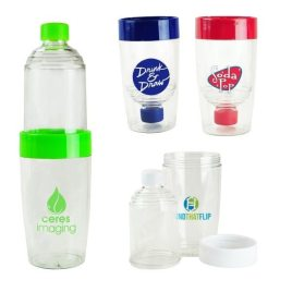 Newt- Bulk Custom Printed 32oz Flip Bottle that Converts to Tumbler