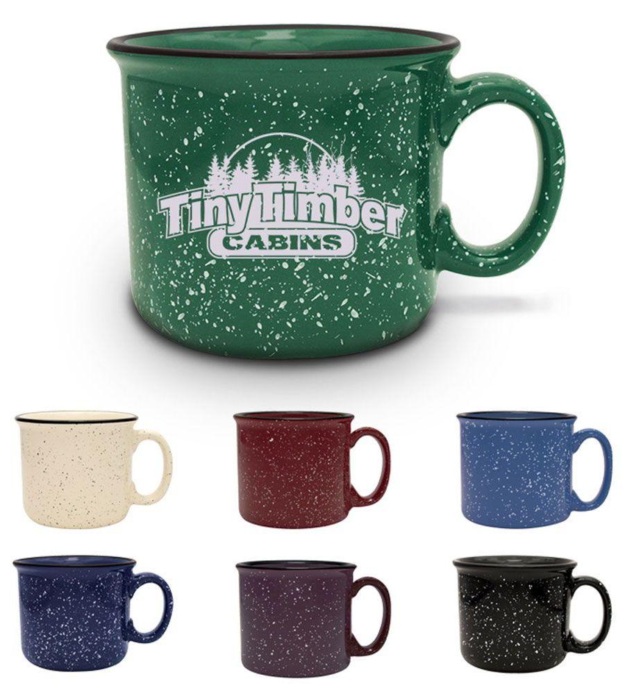 S'More Mug- Bulk Custom Printed 14oz Ceramic Speckled ...