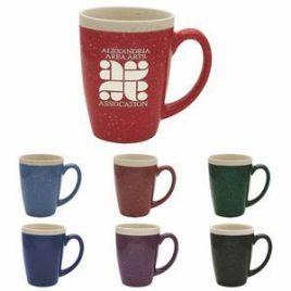 Spruce- Bulk Custom Etched 16oz Speckled Glaze Exterior Finish Coffee Mug