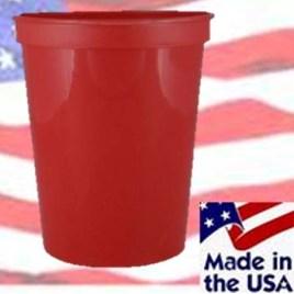 Big Catfish- Bulk Custom Printed 16oz Reusable Plastic Stadium Cup