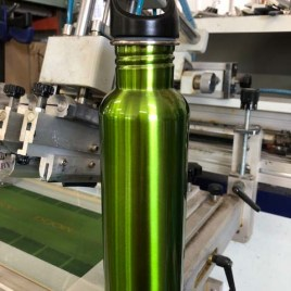26oz Green Stainless Steel Bottle- clearance