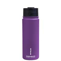Bulk Custom Printed Stainless Steel VI Bottle with Flip Cap by Fifty Fifty