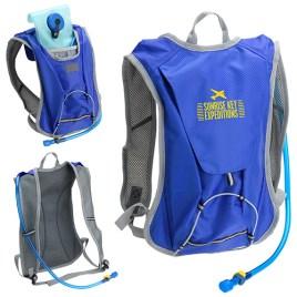 Camel 2.0- Bulk Custom Printed 2L Water Bladder, Hydration Pack