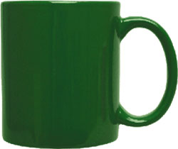 Bulk Custom Printed 11oz Vitrified C-Handle Mug