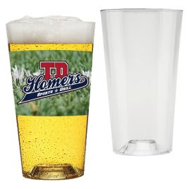 Bulk Full Color Custom Printed 20oz Tritan Pint Glass