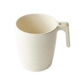 Panda- Bulk Custom Engraved Round 12oz Bamboo Mug
