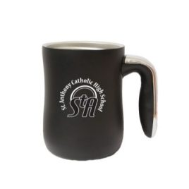 Moose- Bulk Custom Printed 16oz Double Wall Stainless Steel Tapered Mug