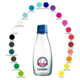 RETAP-17 ounce Retap clear glass bottle