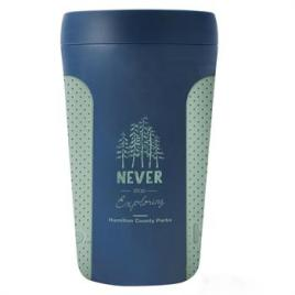 Bulk Custom Printed 12oz Hip Coffee Cup