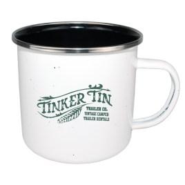 Bulk Custom Printed 17oz Enameled Steel Cup with Black Interior