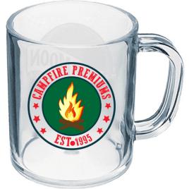 Custom Bulk Full Color Printed Plastic Mug Style Shot Glass