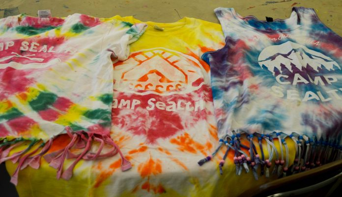 3 Examples of finished T-shirts!