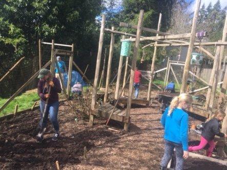 Service Weekend garden