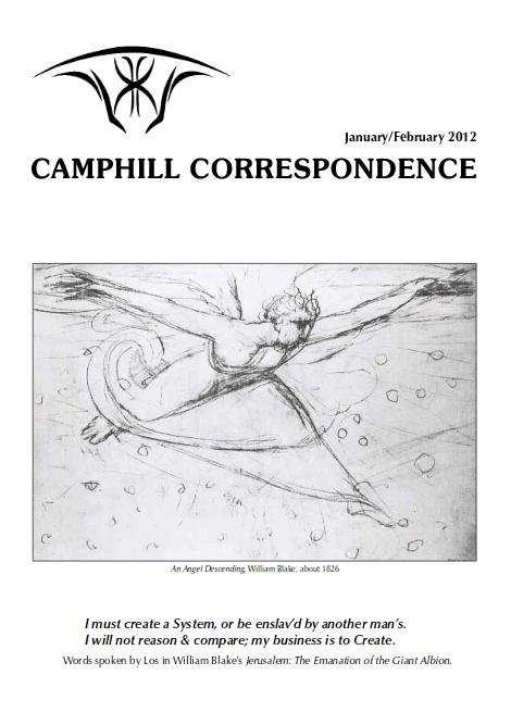 Camphill Correspondence January/February 2012