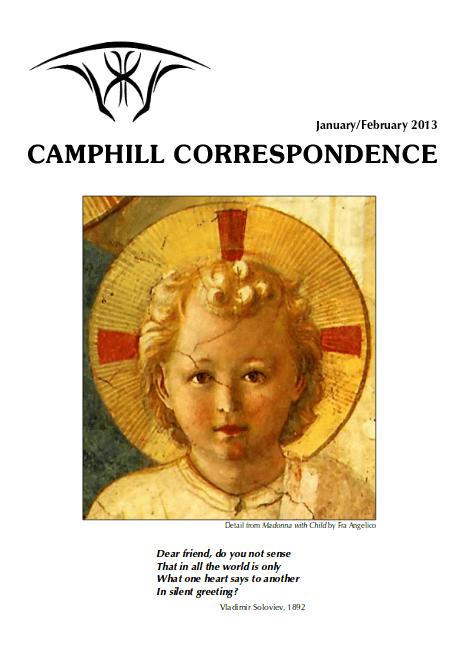 Camphill Correspondence January/February 2013