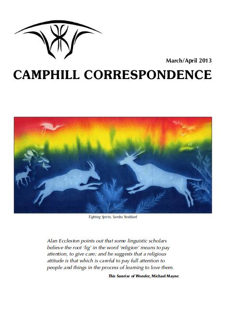 Camphill Correspondence March/Arpil 2013