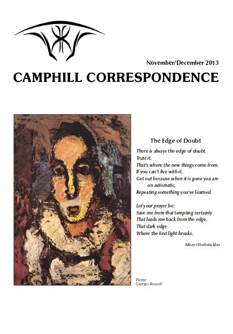 Camphill Correspondence November/December 2013
