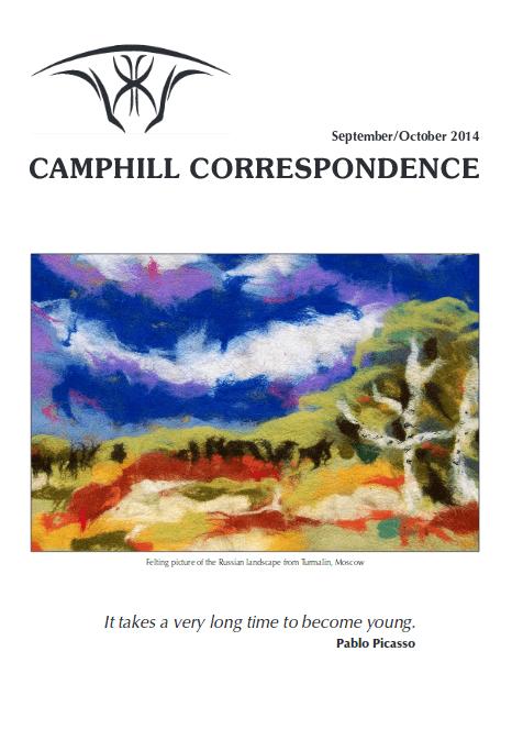 Camphill Correspondence September/October 2014