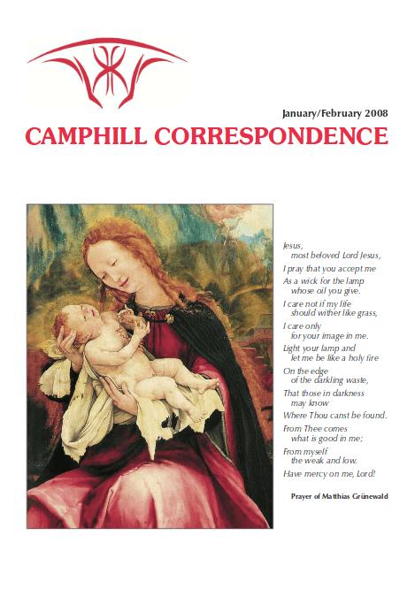 Camphill Correspondence January/February 2008