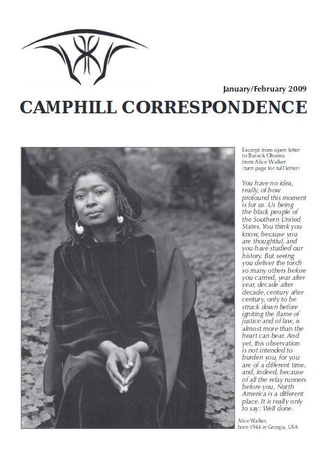 Camphill Correspondence January/February 2009