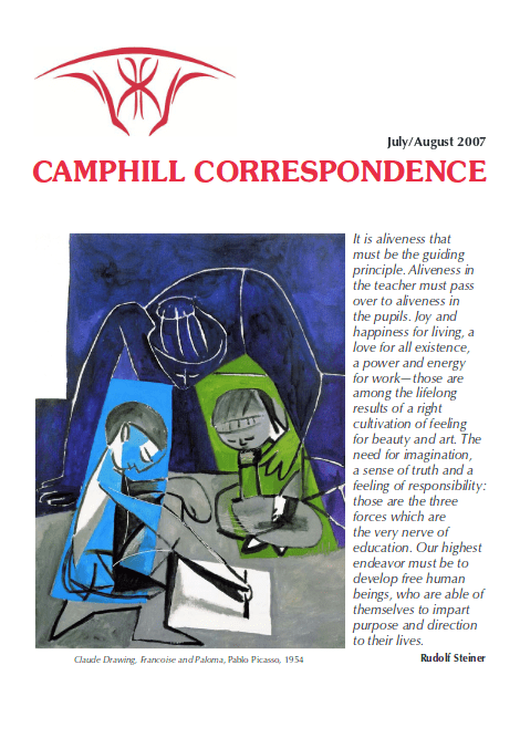 Camphill Correspondence July/August 2007
