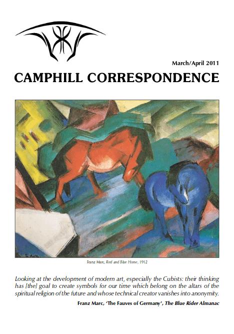 Camphill Correspondence March/Arpil 2011