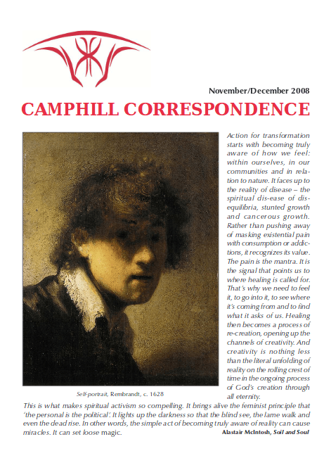 Camphill Correspondence November/December 2008