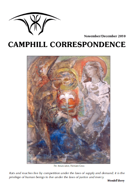 Camphill Correspondence November/December 2010