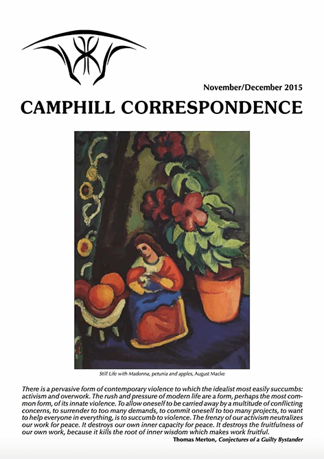 Camphill Correspondence November/December 2015