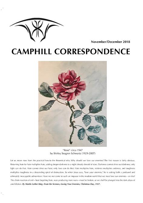 Camphill Correspondence November/December 2018
