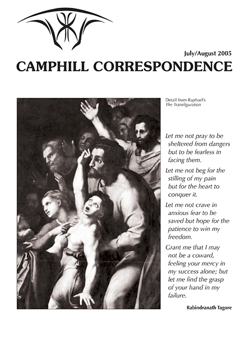 Camphill Correspondence July/August 2005