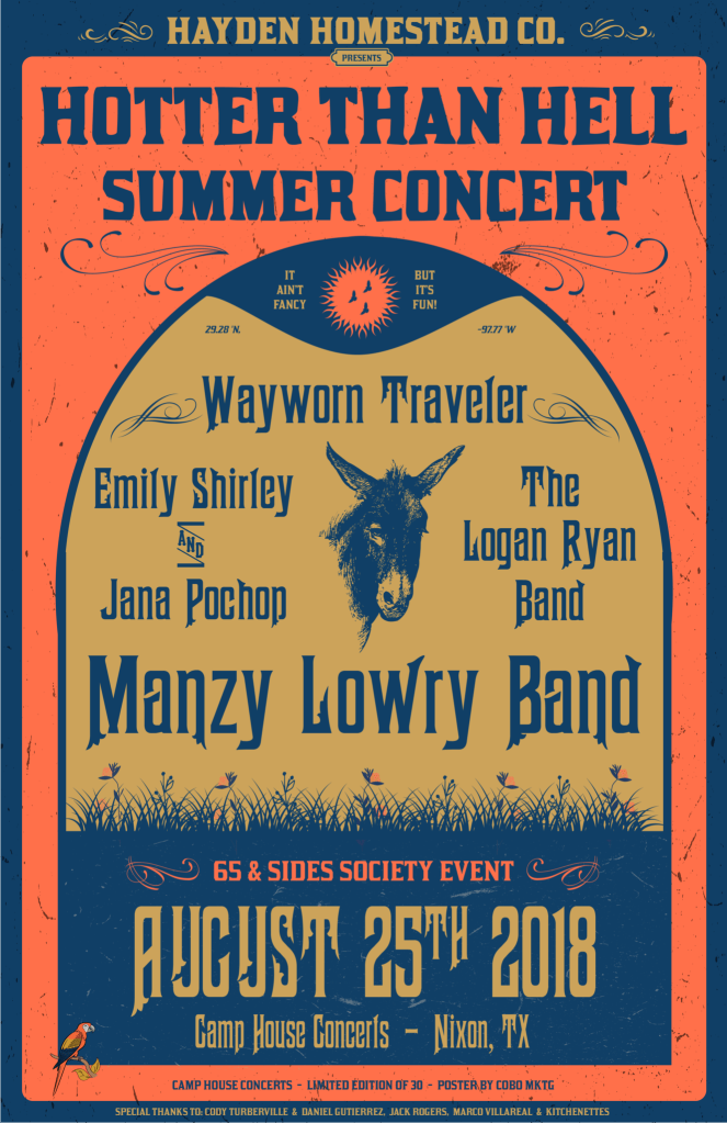 Country Music Concert Poster