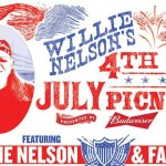 44th Annual Willie Nelson's 4th of July Picnic Banner